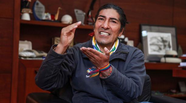 El aspirante a la Presidencia en las Elecciones de Ecuador por Pachakutik anunció que se pronunciará al respecto. Foto: CNE