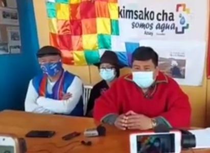 Según informó el líder de la Ecuarunari una avanzada viajará a Quito para estas movilizaciones. Foto:Captura de pantalla